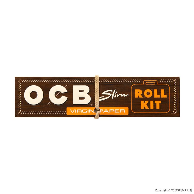 OCB・ブラウンスリム+ロールフィルター