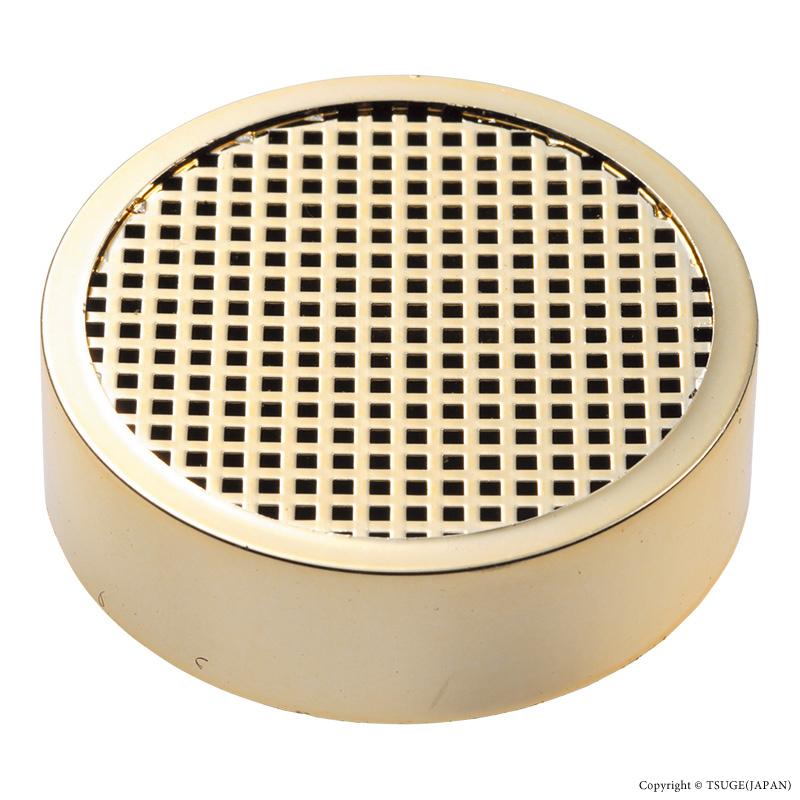 シガー保湿器(丸)ゴールド